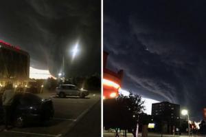 """""""აპოკალიფსის მხედარი"""" - ბელორუსიის ცაზე უზარმაზარი შავი ღრუბელი ჩამოეკიდა"""