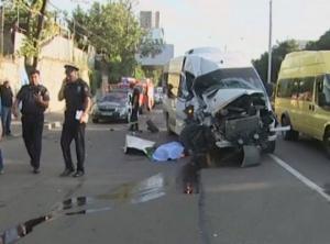 ავარია მარშალ გელოვანის გამზირზე - გარდაცვლილია დასუფთავების სამსახურის თანამშრომელი