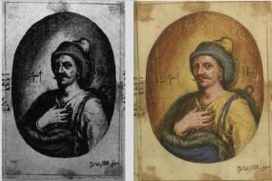 კასტელის ნახატები მე-17 საუკუნის საქართველოსა და ქართველების აღწერით
