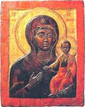 ჩაუქრობელი კანდელი – ვლაქერნის ღვთისმშობლის ხატი