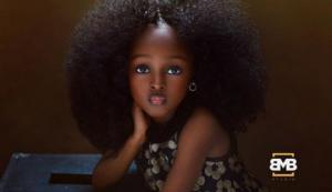 5 წლის ნიგერიელი გოგონა მსოფლიოში ულამაზეს ბავშვად  აღიარეს