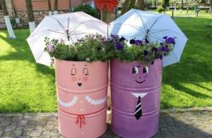 შესანიშნავი იდეები ბაღის დიზაინისათვის