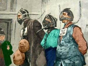 სასჯელის საზარელი და შოკისმომგვრელი მეთოდები შუა საუკუნეების ევროპაში