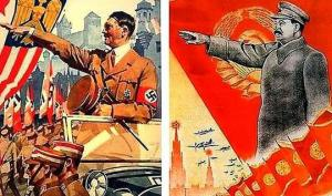 სტალინი და ჰიტლერი: იპოვეთ განსხვავება (+ ნაციზმი და კომუნიზმი – პლაკატებით გაშიშვლებული  იდეოლოგია)