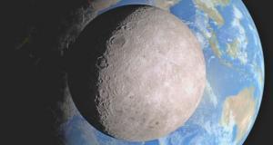 რატომ ვერ ვხედავთ დედამიწელები მთვარის უკანა მხარეს?