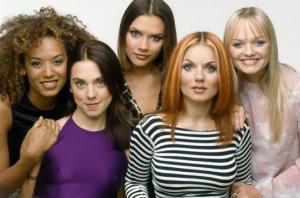 Spice Girls ის წევრები ადრე და ახლა