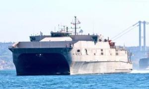 შავ ზღვაში შემოვიდა აშშ-ს სამხედრო-საზღვაო ფლოტის ერთერთი ყველაზე სწრაფი სადესანტო ხომალდი