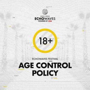 """Echowaves"" ფესტივალზე ასაკობრივი შეზღუდვისა და ბილეთების ვალიდურობის შესახებ ინფორმაციას აქვეყნებს"