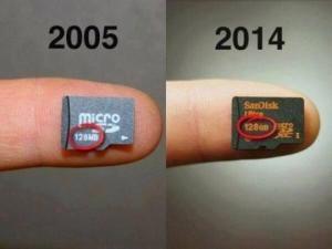 როგორ განვითარდა ტექნოლოგიები წლების განმავლობაში