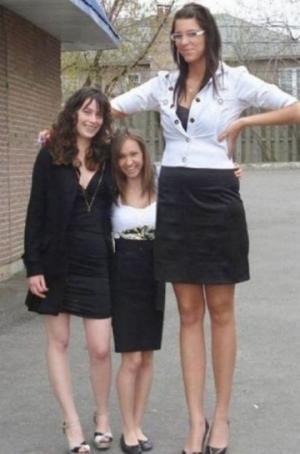 ყველაზე მაღალი გოგოები