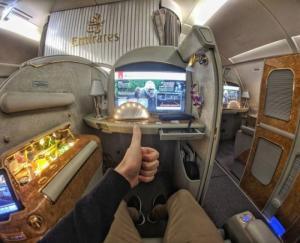 როგორ გამოიყურება პირველი კლასის ადგილები მსოფლიოს წამყვან ავიაკომპანიებში