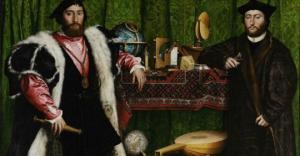 დააკვირდით ფეხებს! - რას მალავს 1533 წელს შექმნილი ერთ-ერთი პირველი ოპტიკური ილუზია