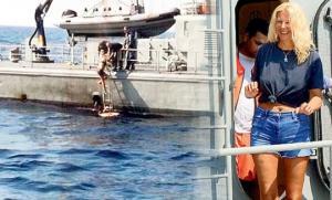 გემიდან გადავარდნილი 46 წლის ქალბატონი 10 საათის განმავლობაში ცურავდა...