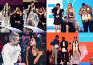 ვარსკვლავური ლუქები VMA - მა 2018 - იდან.