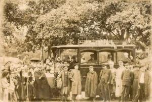 პირველი ავტომანქანა საქართველოში [ვიდეო/ფოტო]