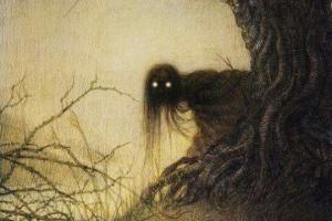 ნამდვილი ამბავი ტყის სული ცხოველის კუდით და ადამიანის სხეულით