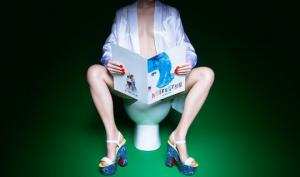 Lady In the Loo: როგორები არიან  მოდური ქალები ტუალეტში (+10 ფოტო)