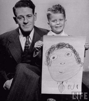 როგორ აღიქვამენ შვილები მამებს? იხილეთ ბავშვების მიერ შესრულებული სახალისო ნახატები