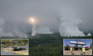 """""""მზადება მესამე მსოფლიო ომისთვის?! - რუსეთის ჯარი აღმოსავლეთით დაიძრა""""  ( ფოტოები + ვიდეო )"""