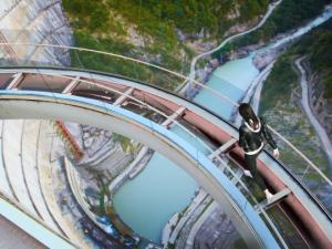 მსოფლიოში ყველაზე მაღალი ლიფტი კაშხალზე ანუ როგორი იქნება ენგურჰესის ტურისტული ზონა