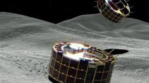 იაპონური  კოსმოსური ზონდები  წარმატებით დაეშვნენ  ასტეროიდ  რიუგუს   ზედაპირზე  და პირველი ფოტოსურათებიც გამოგზავნეს