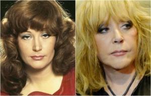 როგორ გამოიყურებიან წლების შემდეგ პოპულარული საბჭოთა მომღერალი ქალები