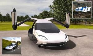 ოქტომბრიდან მფრინავი მანქანები გაიყიდება ( +ვიდეო და ფოტოები )