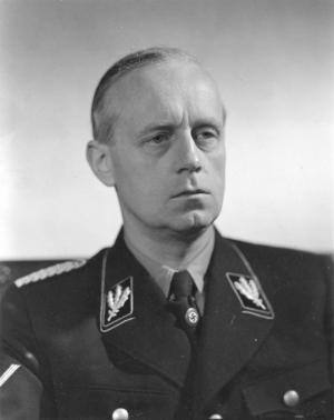 იოახიმ ფონ რიბენტროპის გამოსვლა ნიურნბერგის სასამართლო პროცესზე. (მესამე რაიხის საგარეო საქმეთა მინისტრი 1938-1945 წლებში).