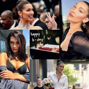 """"""" დაბადების დღეს გილოცავ ანგელოზო! """" - ბელა ჰადიდი იუბილარია"""