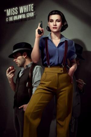 არტისტი  დისნეის პრინცესების და 1940-იანი წლების კინო ჰიტების  შერწყმით, საოცარ ნამუშევრებს ქმნის