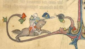 შუა საუკუნეების  უჩვეულო მინიატურები.