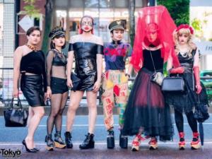 როგორი სამოსით დადის იაპონიის ქუჩებში ახალგაზრდობა (ნაწილი 5)