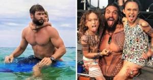 11 ცნობილი, საუკეთესო მამა, მათი  ფოტოები ინტერნეტს იპყრობს