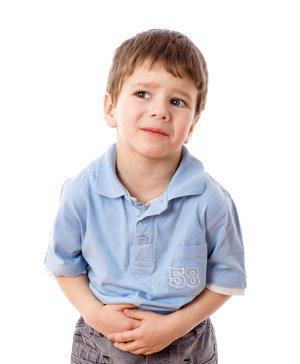 მუცლის ტკივილი ბავშვებში