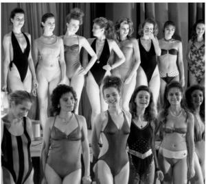 როგორი იყო პირველი ოფიციალური  სილამაზის კონკურსი საბჭოთა კავშირში
