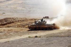 """სირიის სამთავრობო არმიამ განაახლა შეტევა """"ISIS""""-ის პოზიციებზე"""