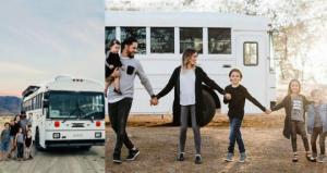 4შვილიანმა ოჯახმა სასკოლო ავტობუსი სახლად გადააკეთა! შედეგი შესანიშნავია
