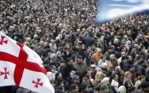 ვარდების რევოლუცია : ხალხსა და ამერიკულ  რბილ ძალას შორის (soft power)