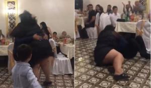 ნახეთ რა კურიოზული შემთხვევა  მოხდა ქორწილში