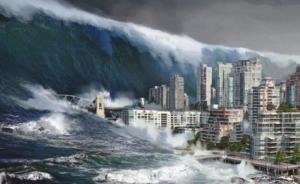 ცნობილი კურორტი წყლის ქვეშაა: გიგანტური ტალღები ანადგურებს შენობებს