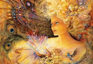 ქართული მითოლოგია -  მზის ქალღმერთი ბარბალე