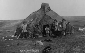 ფოტოები 1900 წლიდან - ესკიმოსები ალიასკიდან