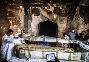 ეგვიპტელმა არქეოლოგებმა კიდევ ერთი სარკოფაგი აღმოაჩინეს