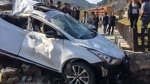 ჩინეთში ქალი სასწაულად გადაურჩა სიკვდილს(ვიდეო)