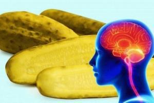ნახეთ, რა დაემართება თქვენს ტვინს, თუ დღეში ერთ ცალ მჟავე კიტრს შეჭამთ