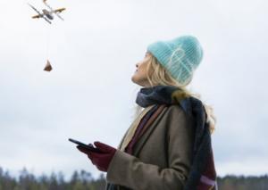 """2019 წლიდან ფინეთის დედაქალაქში შეკვეთილ პროდუქციას ადგილზე """"დრონი"""" მიიტანს"""