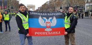 """რუსი აგენტები """"ყვითელი ჟილეტებით"""" - რუსეთი პარიზში არეულობებს იყენებს!"""
