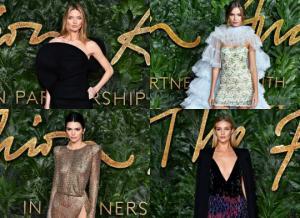 ვარსკვლავთცვენა - Fashion Award 2018.  როგორ გამოიყურებოდნენ ცნობილი ვარსკლავები?