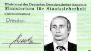 გერმანიაში, ქალაქ დრეზდენში ნაპოვნი იქნა ვლადიმერ პუტინის საიდუმლო პოლიციის მოწმობა