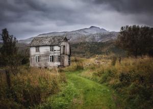 მიტოვებულ სახლთა მშვენიერება